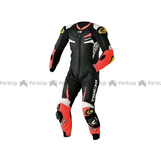 RSTAICHI レーシングスーツ NXL306 GP-WRX R306 RACING SUIT TECH-AIR対応(ネオンレッド) サイズ:LW/52 RSタイチ