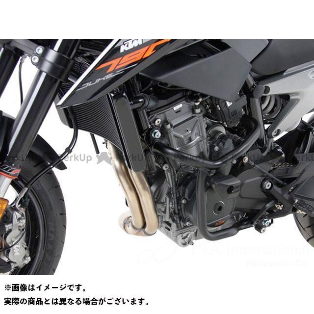 送料無料 HEPCO&BECKER 790デューク エンジンガード エンジンガード(ブラック)