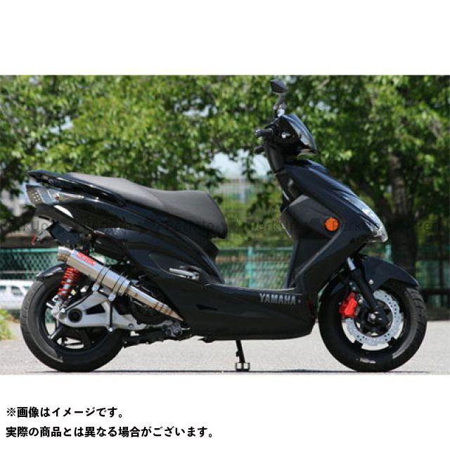 【エントリーで更にP5倍】K2-tec シグナスX マフラー本体 シグナスX Volta STD(台湾5期O2対応) 出口形状:3ピースタイプ ケイツーテック