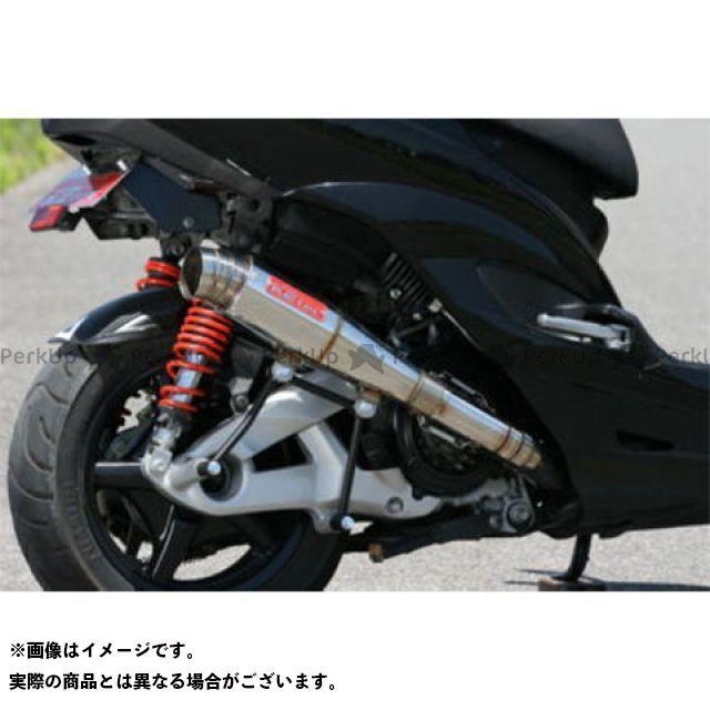 【エントリーで最大P21倍】K2-tec シグナスX マフラー本体 シグナスX Volta テーパー(台湾5期O2対応) 出口形状:3ピースタイプ ケイツーテック
