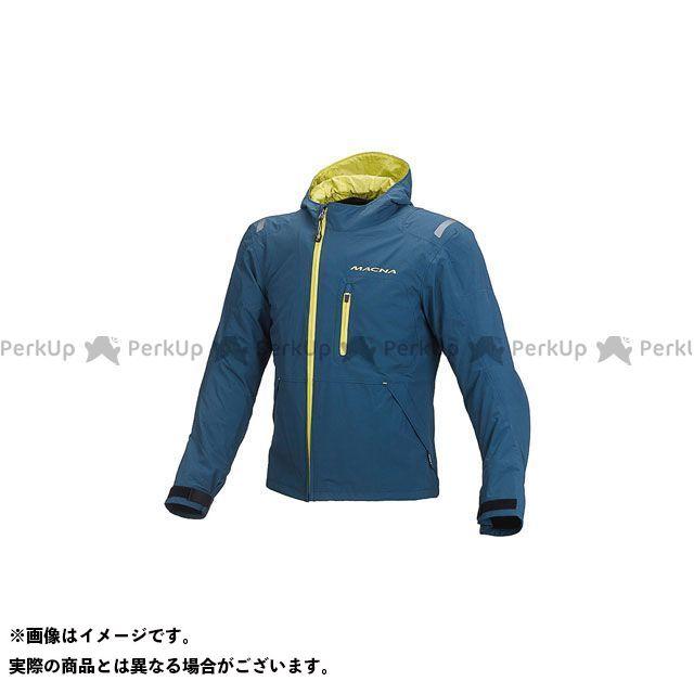 MACNA ジャケット Refuge(リフュージュ) ライディングジャケット オーシャン/イエロー サイズ:S マクナ