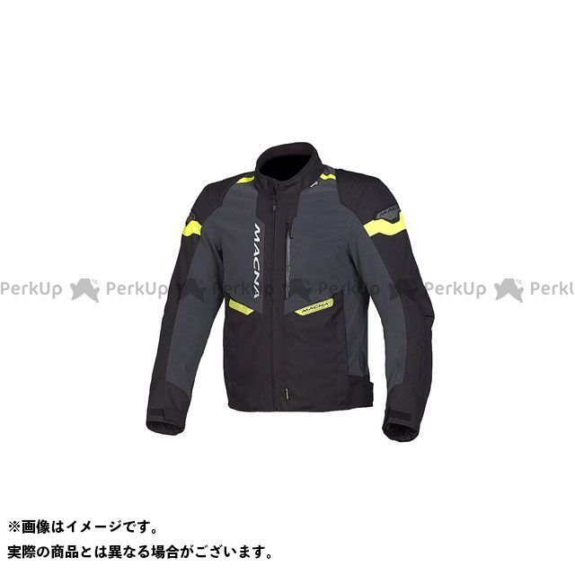 MACNA ジャケット Traction Night Eye(トラクション ナイトアイ) オールシーズンジャケット ネオンイエロー サイズ:XL マクナ