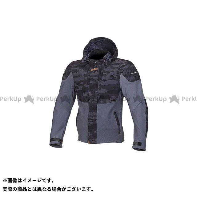 MACNA ジャケット Hoodini(フーディーニ) メッシュジャケット ブラック/カモグレー サイズ:S マクナ