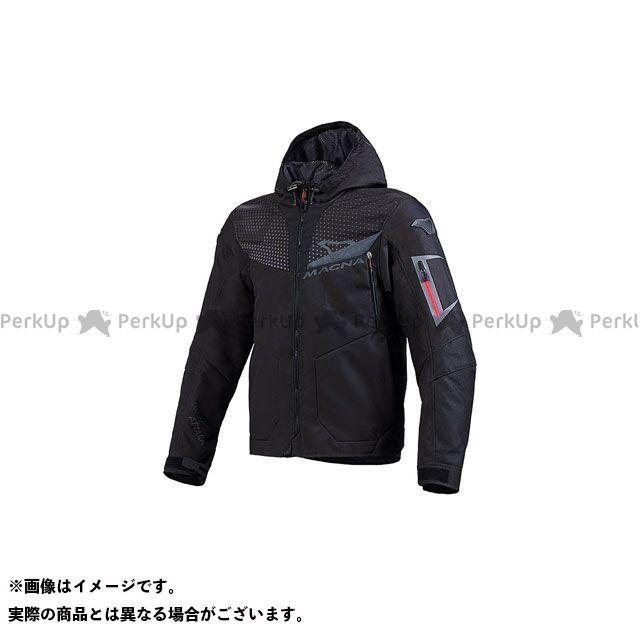 MACNA ジャケット Imbuz(インバズ) ライディングジャケット ブラック/ダークグレー サイズ:L マクナ