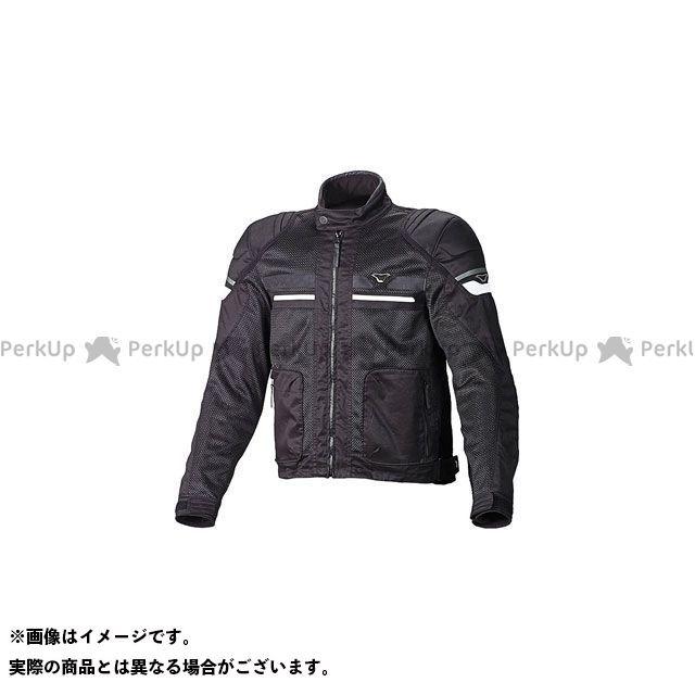 MACNA ジャケット Rush(ラッシュ) メッシュジャケット ブラック サイズ:XL マクナ