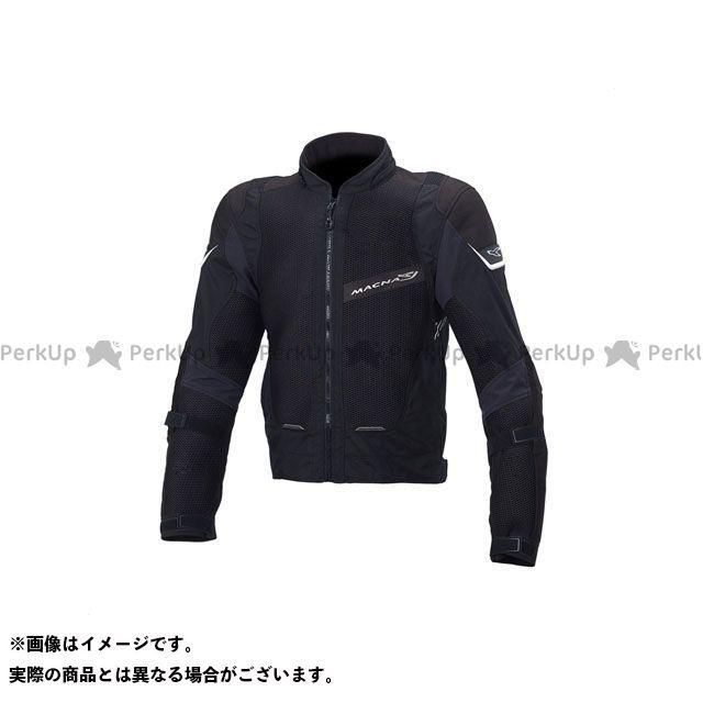 MACNA ジャケット Sunrise(サンライズ) メッシュジャケット ブラック サイズ:L マクナ