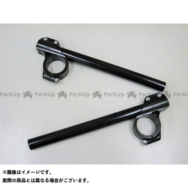 【無料雑誌付き】ビートジャパン ハンドル関連パーツ 41mm汎用クリップオンハンドル(ブラック) BEET