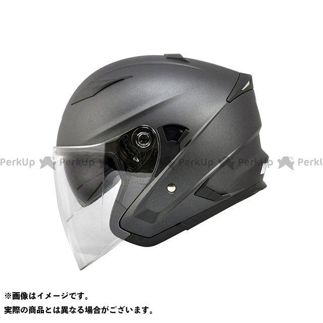 THH ティーエイチエイチ ジェットヘルメット T-560S インナーサンバイザー装備 ジェットヘルメット(マットダークグレー) L