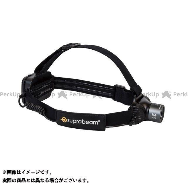 【エントリーでポイント10倍】送料無料 SUPRABEAM SUPRABEAM 光学用品 613.5043 V4PRO 充電式 軽量LEDヘッドライト