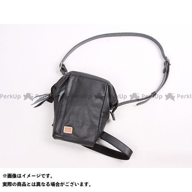 【エントリーで更にP5倍】デグナー ツーリング用バッグ W-101 レザーホルスターバッグ(ブラック) DEGNER