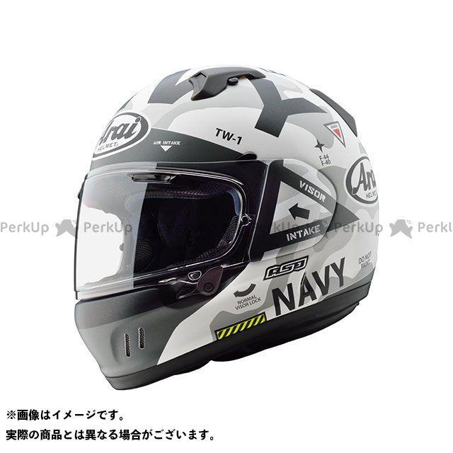 Arai フルフェイスヘルメット 【東単オリジナル】 XD NAVY(エックス・ディー ネイビー) ホワイト サイズ:57-58cm アライ ヘルメット