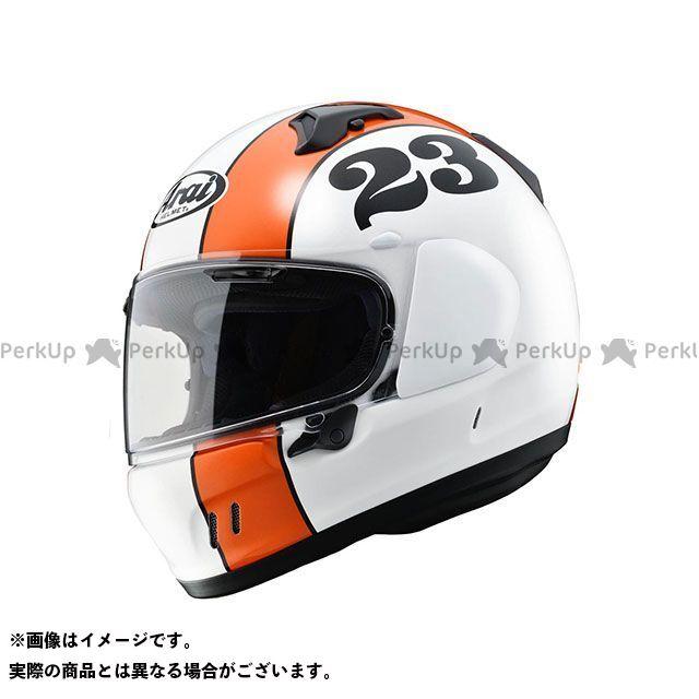 アライ ヘルメット Arai フルフェイスヘルメット 【東単オリジナル】 XD STOUT(エックス・ディー スタウト) グラスホワイト 59-60cm