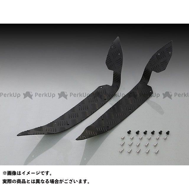 【無料雑誌付き】KITACO PCX125 PCX150 フロアボード・ステップボード ステップボード(ブラックアルマイト) キタコ
