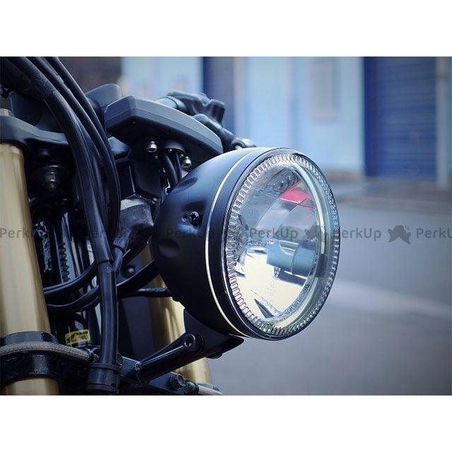 HIGHSIDER 汎用 ヘッドライト・バルブ スカイラインヘッドライト ボトムマウント式(ブラック)