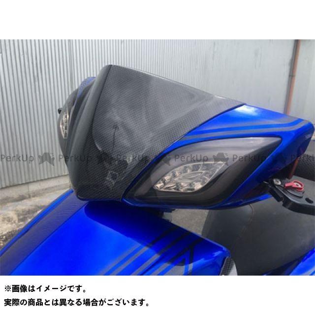 エムデザイン シグナスX カウル・エアロ シグナスX 3型 フロントマスク タイプ2(型式EBJ-SE44J/E3B1E) 仕様:FRP製(黒ゲル) Mデザイン