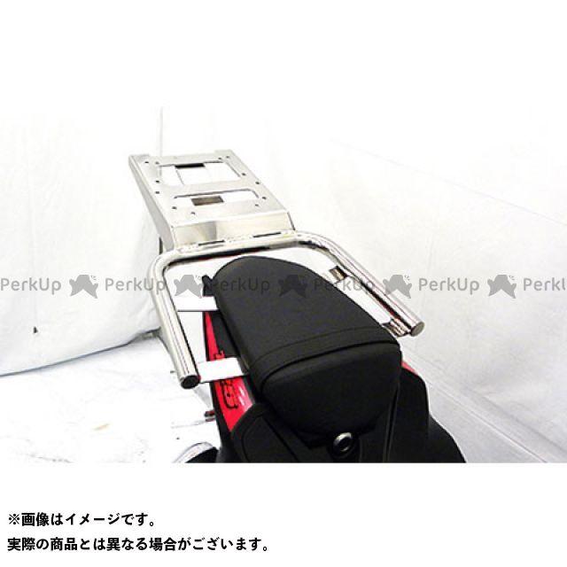 WirusWin GSX-R125 タンデム用品 GSX-R125(2BJ-DL33B)用 リアボックス用 ベースブラケット付きタンデムバー ウイルズウィン