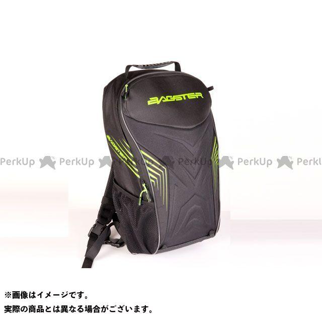 BAGSTER ツーリング用バッグ リュックサック RACER(レーサー) ブラック/グリーン バグスター