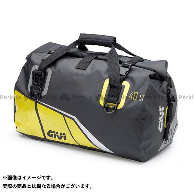 GIVI ツーリング用バッグ EA115BY 防水ボストンバッグ 40L(ブラック×イエロー) ジビ