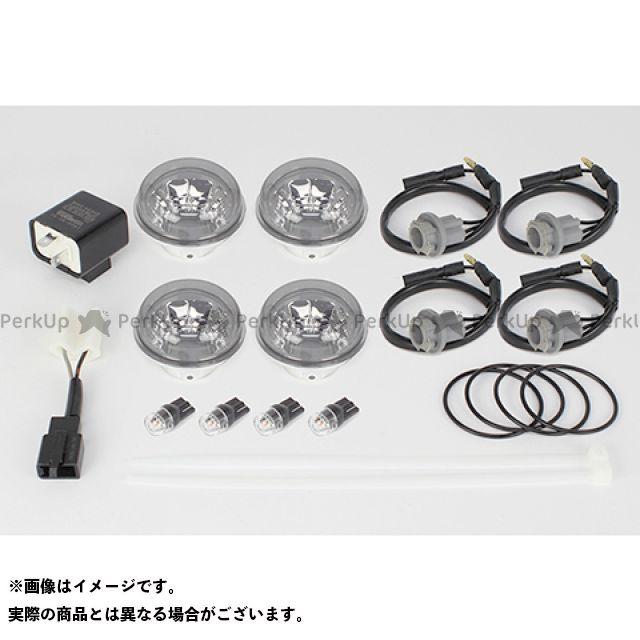 送料無料 TAKEGAWA モンキー125 ウインカー関連パーツ ブレイズウインカー 4個1セット(スモークレンズ)