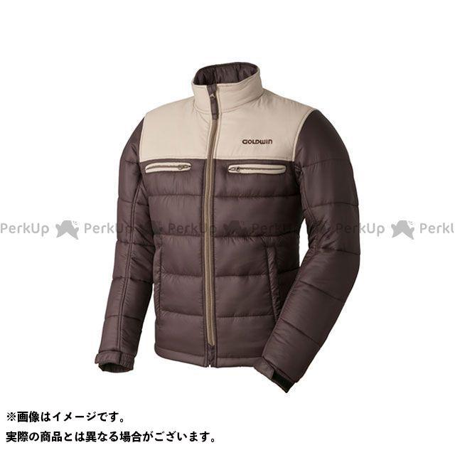 GOLDWIN ジャケット 【特価品】GSM22758 GWS ウォームキルトジャケット(タン×ブラウン) サイズ:XL ゴールドウイン