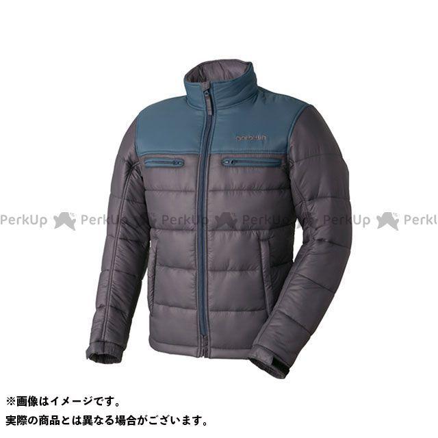 GOLDWIN ジャケット 【特価品】GSM22758 GWS ウォームキルトジャケット(ブルーグレー×グレー) サイズ:XL ゴールドウイン