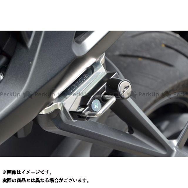 AGRAS CB1000R その他外装関連パーツ ヘルメットホルダー シルバー ブラック