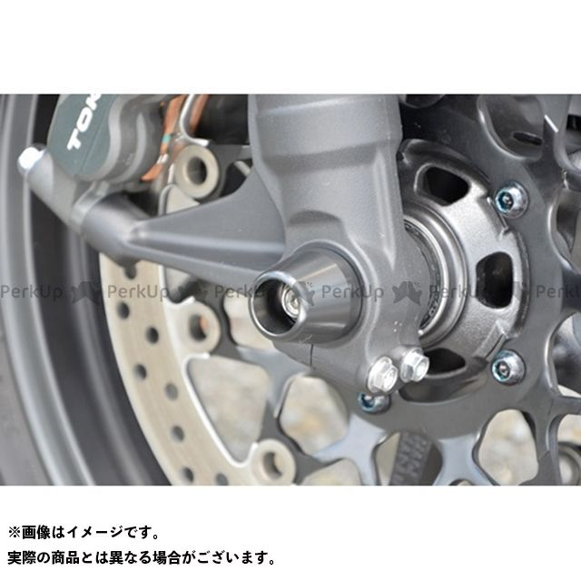 AGRAS CB1000R その他サスペンションパーツ アクスルプロテクター コーンタイプ 仕様:アルミ カラー:レッド アグラス