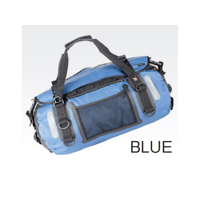 送料無料 AMPHIBIOUS アンフィビウス ツーリング用バッグ VOYAGER(ヴォイジャー) 45L ブルー