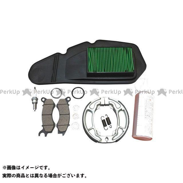 Grondement PCX125 プラグ パフォーマンスリフレッシュキット(プラグ/エアフィルター/ブレーキ/ギアオイル等 メンテナンスキット) グロンドマン