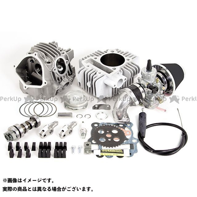 TAKEGAWA KLX110L KSR110プロ KSR110 ボアアップキット スーパーヘッド+Rコンボキット 178cc スカット(MIKUNI VM26) SP武川