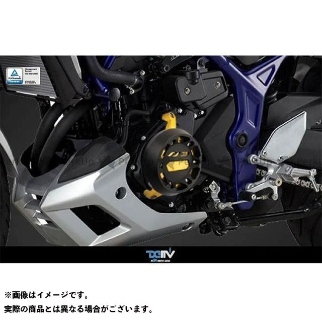 Dimotiv MT-03 スライダー類 エンジンプロテクター MT-03 左 カラー:チタン ディモーティブ