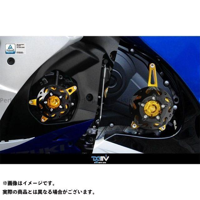 【エントリーで最大P23倍】Dimotiv GSX-R1000 スライダー類 エンジンプロテクター GSX-R1000 左右セット カラー:チタン ディモーティブ