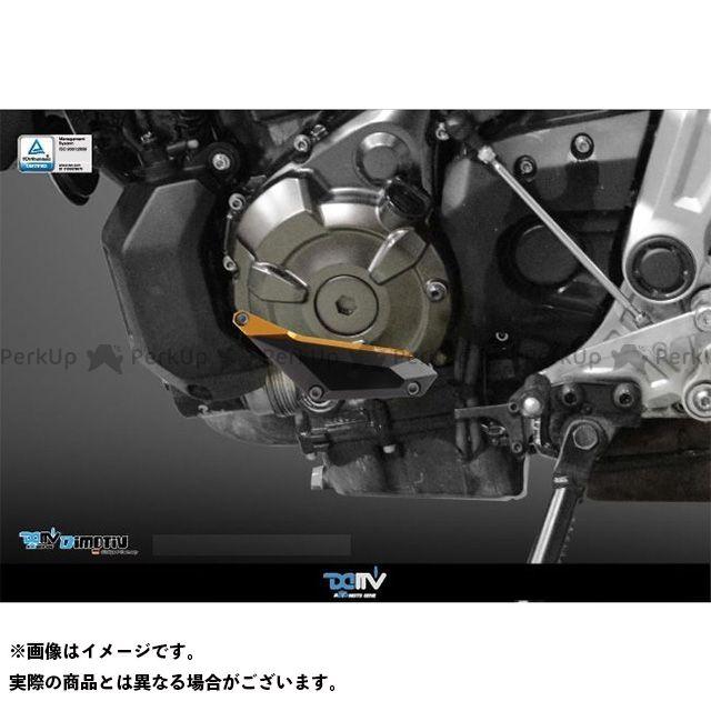 送料無料 ディモーティブ Dimotiv スライダー類 エンジンクラッシュパッド MT-07 左 ブラック