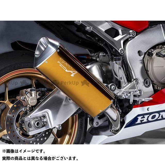 YAMAMOTO RACING CBR1000RRファイヤーブレード マフラー本体 17~CBR1000RR SPEC-A TYPE-SA ゴールド 認証 ヤマモトレーシング