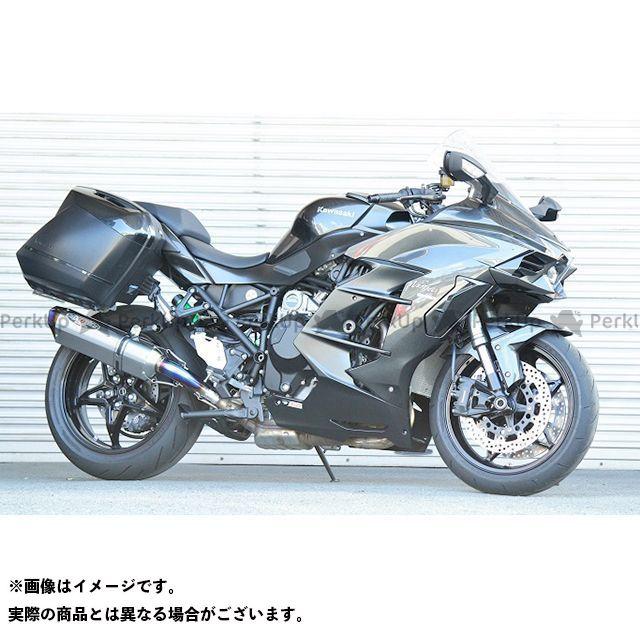ビートジャパン ニンジャH2 SX ニンジャH2 SX SE マフラー本体 NASSERT Evolution TypeII スリップオンマフラー(クリアチタンサイレンサー) BEET