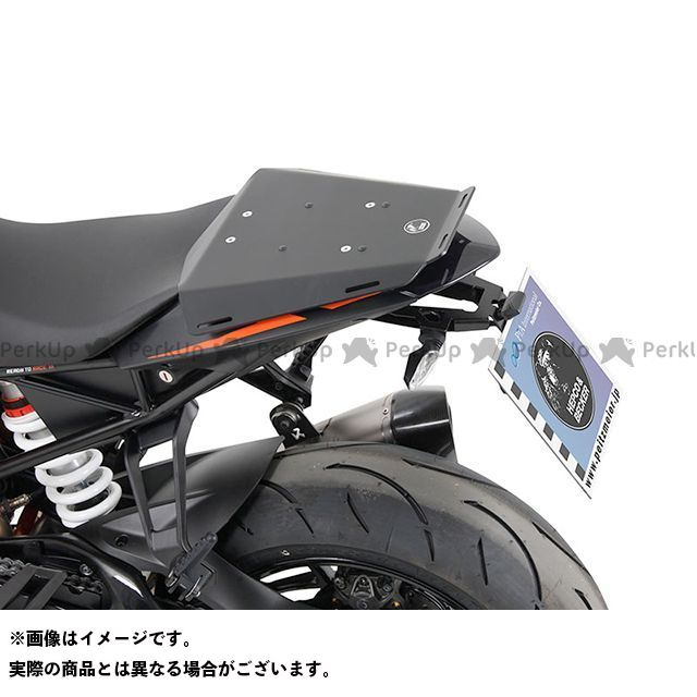 【エントリーで最大P21倍】HEPCO&BECKER キャリア・サポート タンデムシート置換型リアラック「Speedrack EVO」(ブラック) ヘプコアンドベッカー