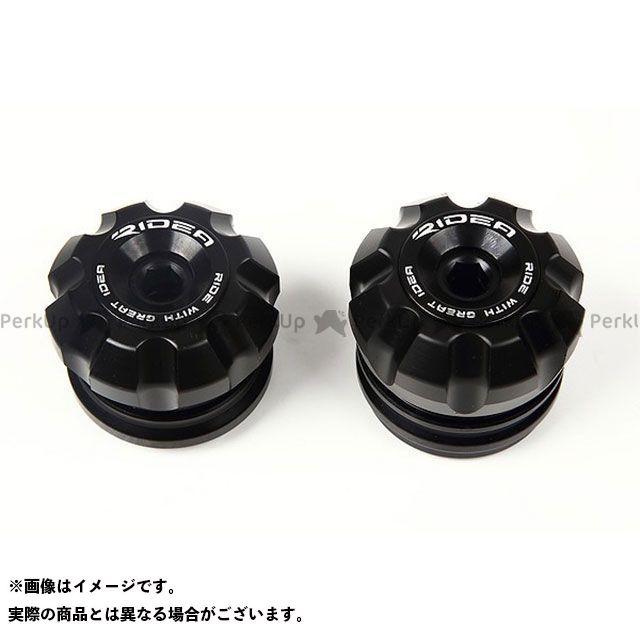 【特価品】RIDEA GSX-S750 スライダー類 フロントアクスルスライダー(ブラック) リデア