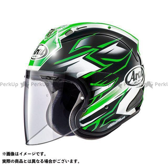 アライ ヘルメット Arai ジェットヘルメット VZ-Ram GHOST(VZ-ラム・ゴースト) グリーン 54cm