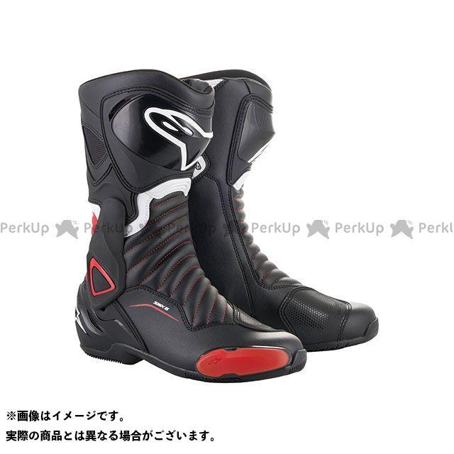 アルパインスターズ レーシングブーツ SMX6 ブーツ(ブラック/レッド) サイズ:43 Alpinestars