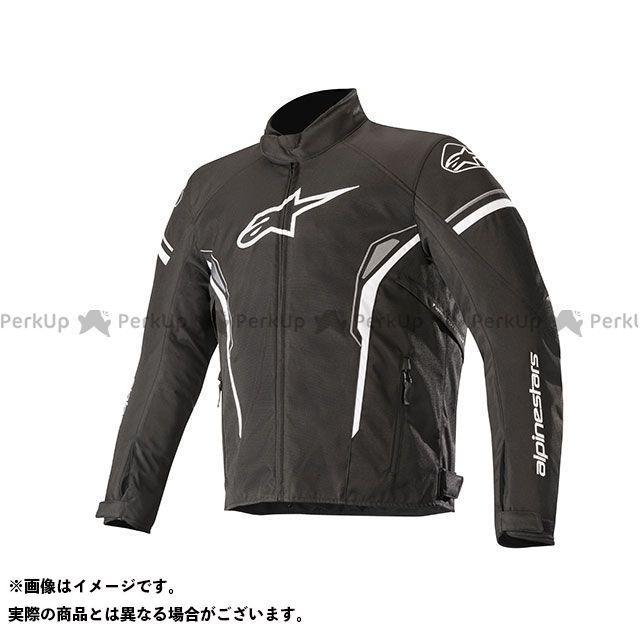 アルパインスターズ ジャケット T-SP-1 ウォータープルーフ ジャケット(ブラック/ホワイト) サイズ:M Alpinestars