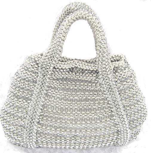 ジュエリーレースとEバルーンのバッグ