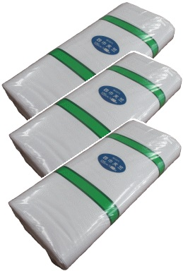 四巾天竺(128cm×37m・晒)小反【送料無料】3反単位の白布販売