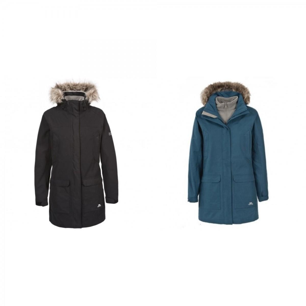 (トレスパス) Trespass レディース Maebell 3in1 パーカジャケット アウター コート アウトドア スポーツ 冬 防寒 【海外直送】
