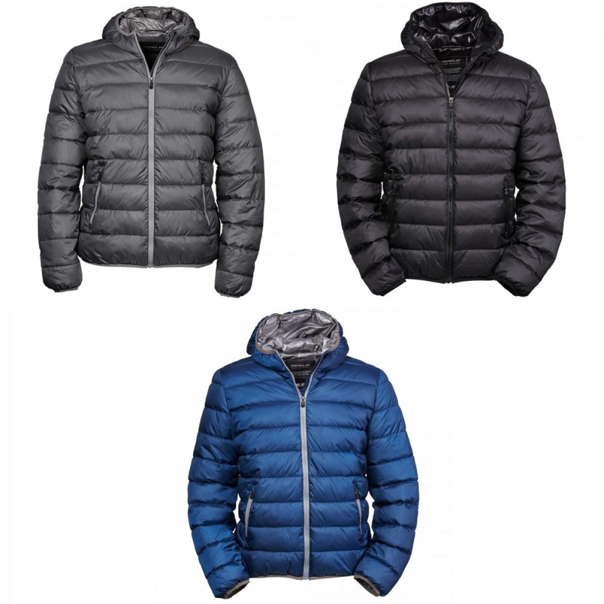 (ティー・ジェイズ) Tee Jays メンズ Zepelin 中綿入りジャケット アウター ジャンパー 冬 【海外直送】