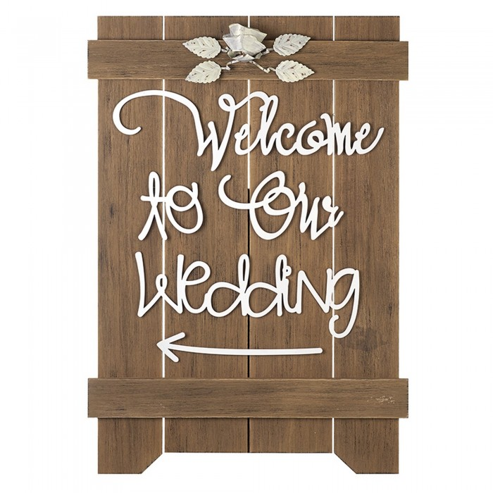 (ヘヴン・センズ) Heaven Sends 結婚式 Welcome To The Wedding 看板 ウェディング 飾り デコレーション 【海外直送】