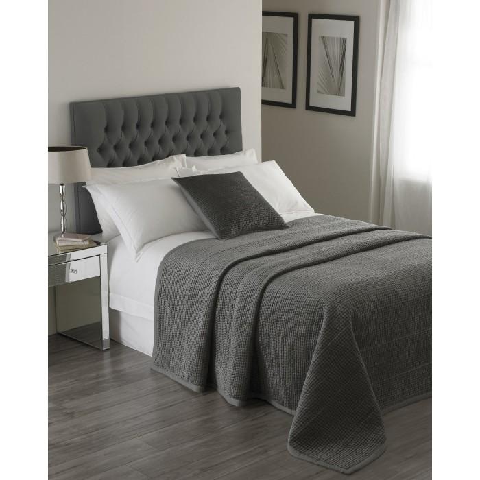 (リーヴァ・ホーム) Riva Home ブルックランズ ベッドスプレッド 装飾用ベッド掛け インテリアのアクセント おしゃれ 【海外直送】