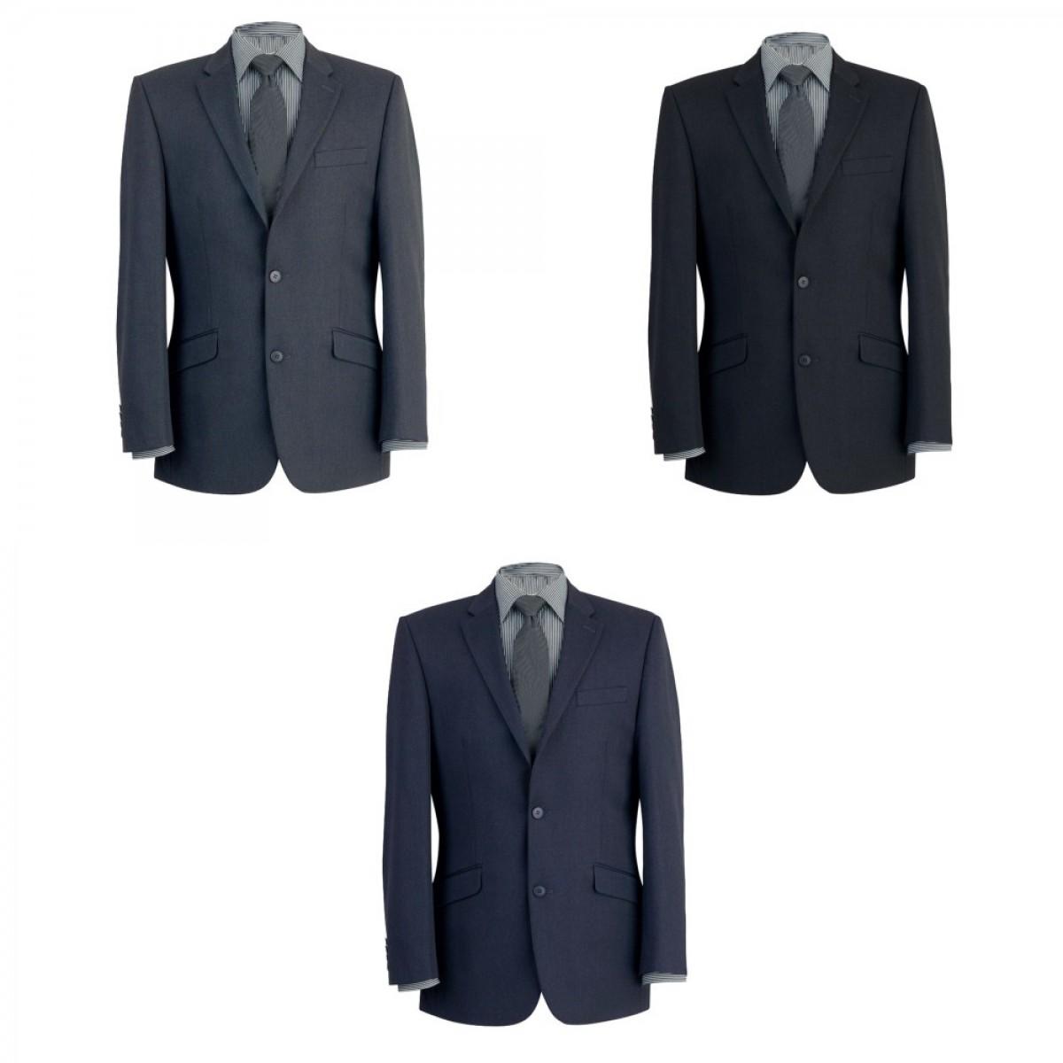 (ブルーク・タバナー) Brook Taverner メンズ ゼウス シングルブレスト スーツジャケット ビジネス フォーマル 男性用 【海外直送】