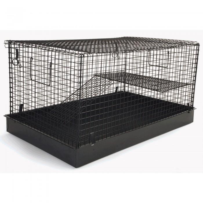 (ペナイン) Pennine 小動物用 折り畳み 2階建て チンチラ・ネズミ 飼育ケージ ハウス 小動物 ペット用 【海外直送】