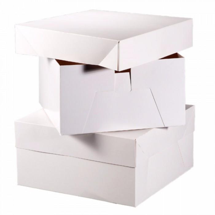 (クラブグリーン) Club Green スクエア型 ケーキボックス お菓子入れ 製菓用品 (10箱) 【海外直送】