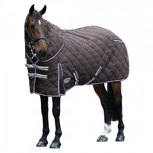 (ウェザビータ) Weatherbeeta 馬用 Comfitec ヘビー 1000デニール ダイアモンドキルト 取り外せるネック ステーブルラグ 乗馬 ホースライディング 【海外直送】